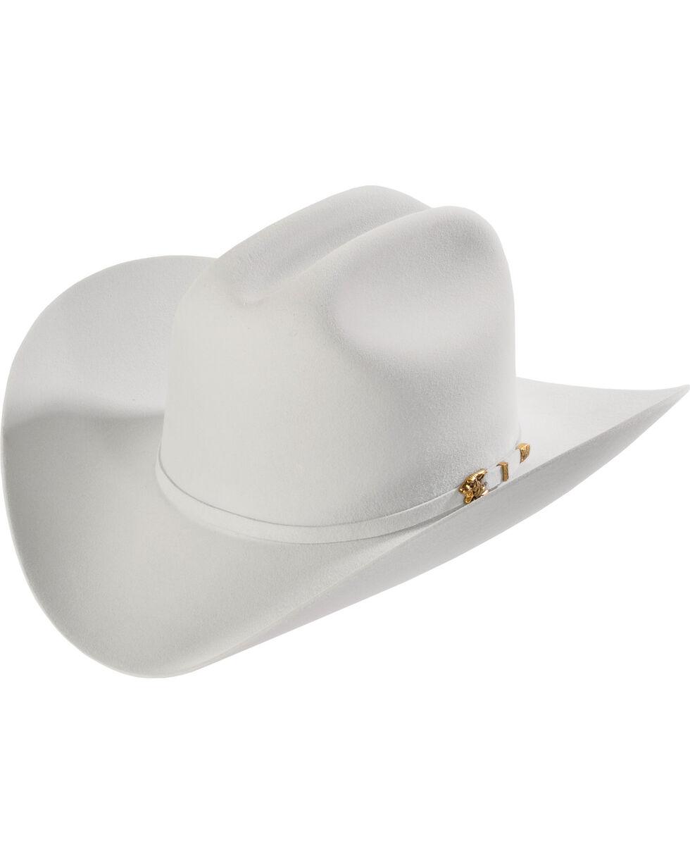 Larry Mahan 8X Los Tigres Del Norte Light Grey Felt Cowboy Hat , Lt Grey, hi-res