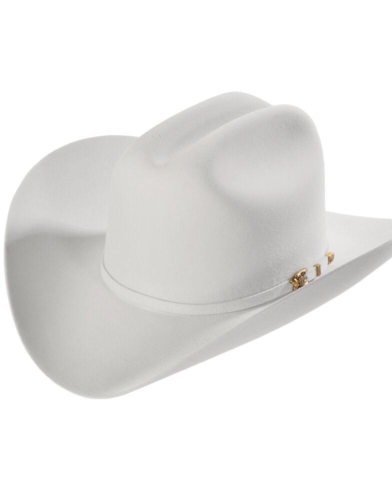 Larry Mahan 8X Los Tigres Del Norte Light Grey Felt Cowboy Hat ... d6dc2f2509a