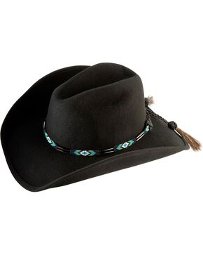 Bullhide Men's Secret Message Wool Hat, Black, hi-res