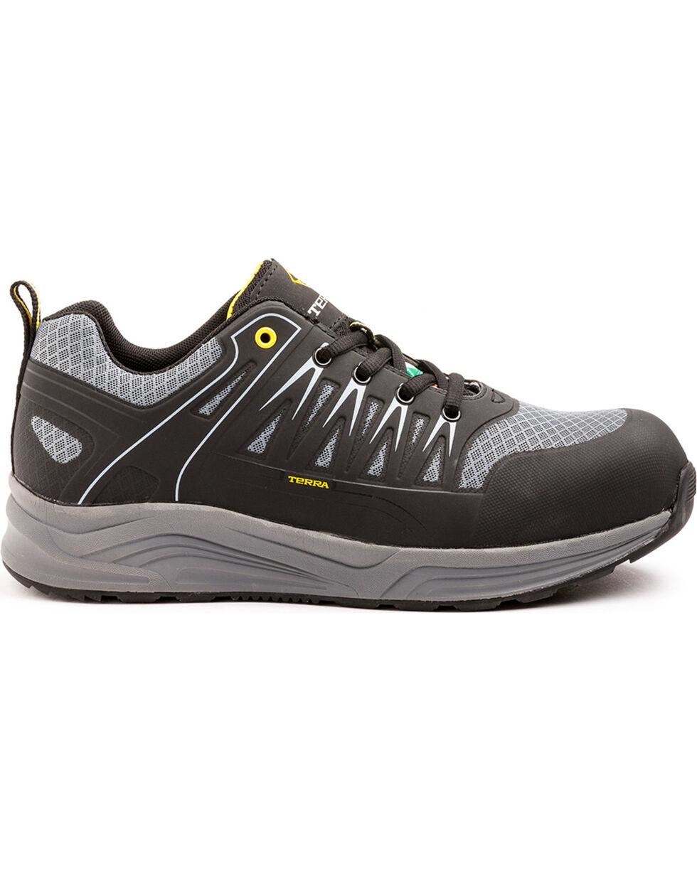 Terra Men's Rebound Composite Toe Work Shoe, Black, hi-res