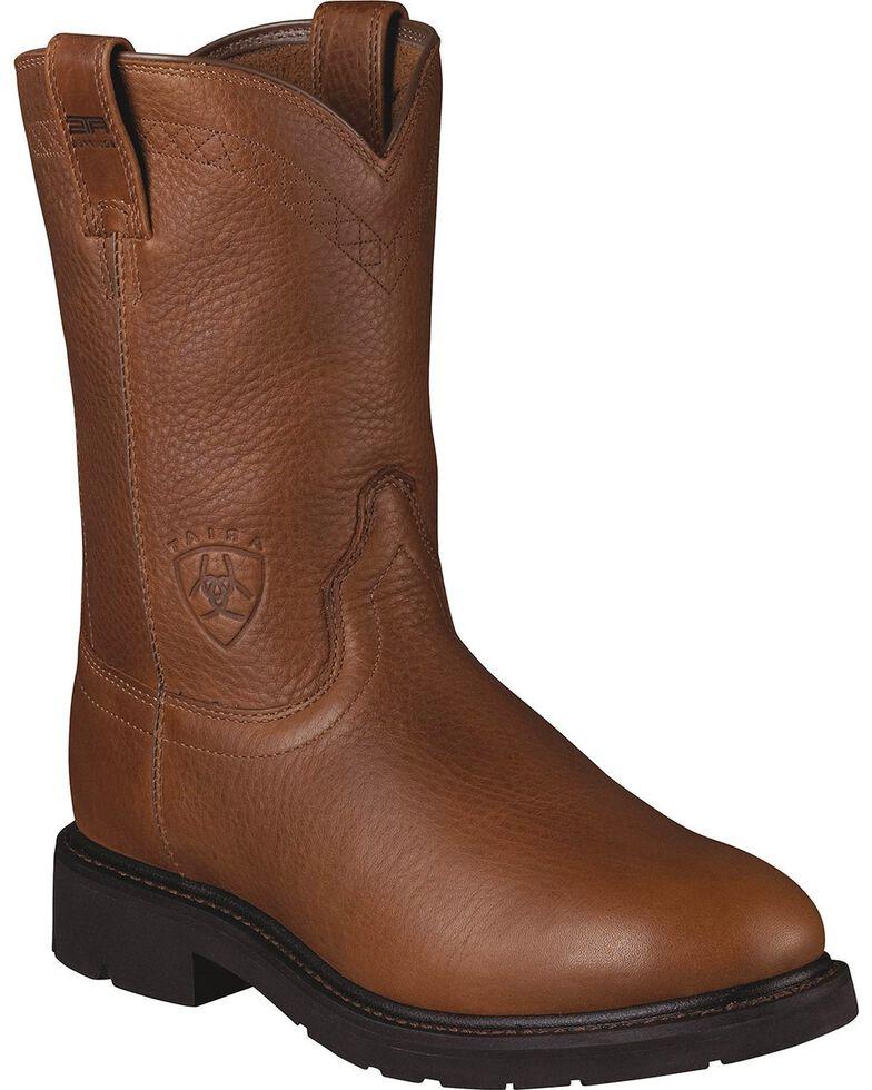 Ariat Men's Sierra Work Boots, Bronze, hi-res