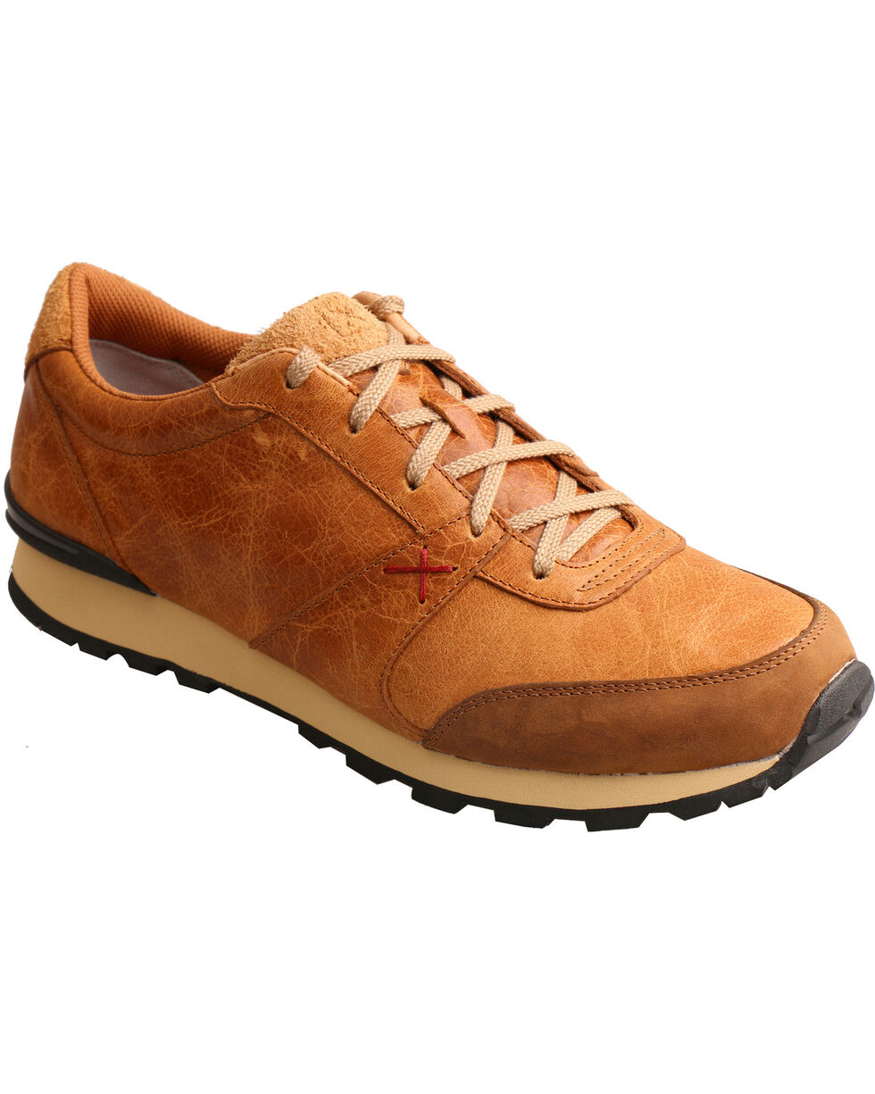 Twisted X Men's Tan Western Athleisure Shoes