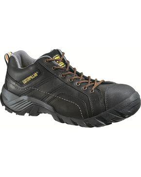 CAT Men's Composite Toe Argon Oxford Work Shoes, Black, hi-res