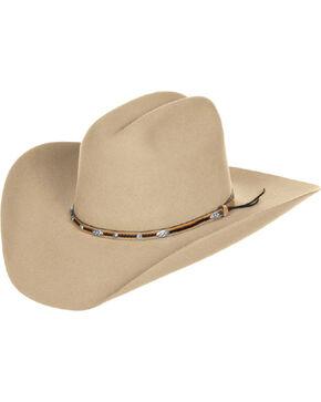 Master Hatters of Texas Ruidoso 3X Wool Felt Hat, Fawn, hi-res