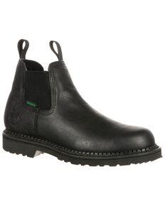 Georgia Boot Men's Giant Waterproof High Romeo Boots - Round Toe, Black, hi-res