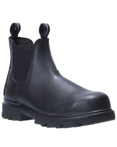 Wolverine Women's Black I-90 EPX Romeo Work Boots - Composite Toe, Black, hi-res