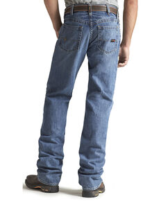 Ariat Men's Flame Resistant Flint M3 Loose Fit Jeans, Denim, hi-res