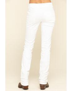 Wrangler Women's White Straight Jeans, White, hi-res