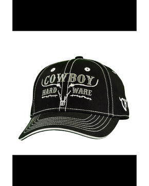 Cowboy Hardware Infant & Toddler Boys' Ghost Steer Cap, Black, hi-res
