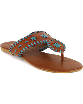 Shyanne® Women's Sedona Sandals, Brown, hi-res