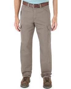Wrangler Men's Vantage Ripstop Cargo Pants, Bark, hi-res