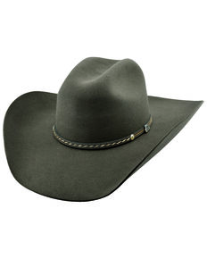 Justin Men's 6X Chocolate Crowell Western Felt Hat , Chocolate, hi-res