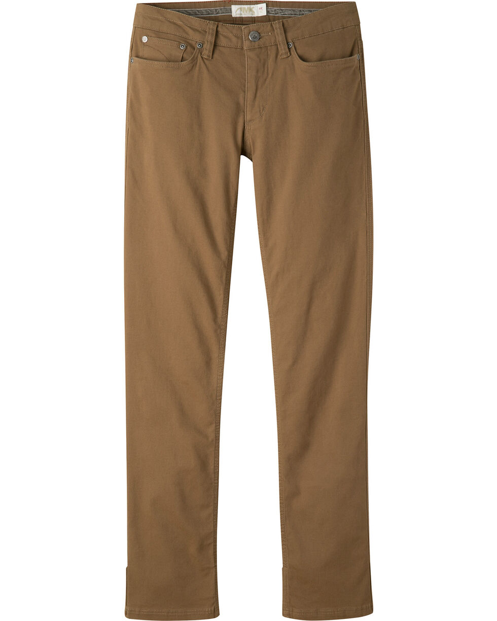 Mountain Khakis Women's Classic Fit Camber 106 Pants - Petite, Brown, hi-res