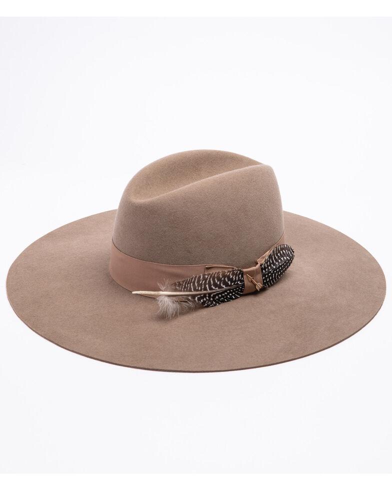 Stetson Women's Rapture Mushroom Wool Hat , Mushroom, hi-res