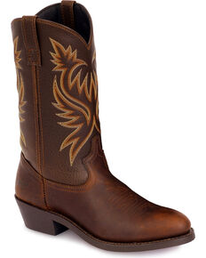 Laredo Men's Paris Western Boots, Copper, hi-res