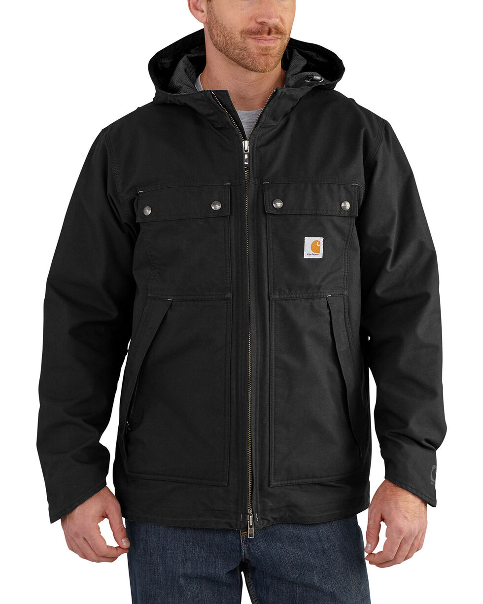 Carhartt Men's Quick Duck 3-in-1 Rockwall Jacket , Black, hi-res