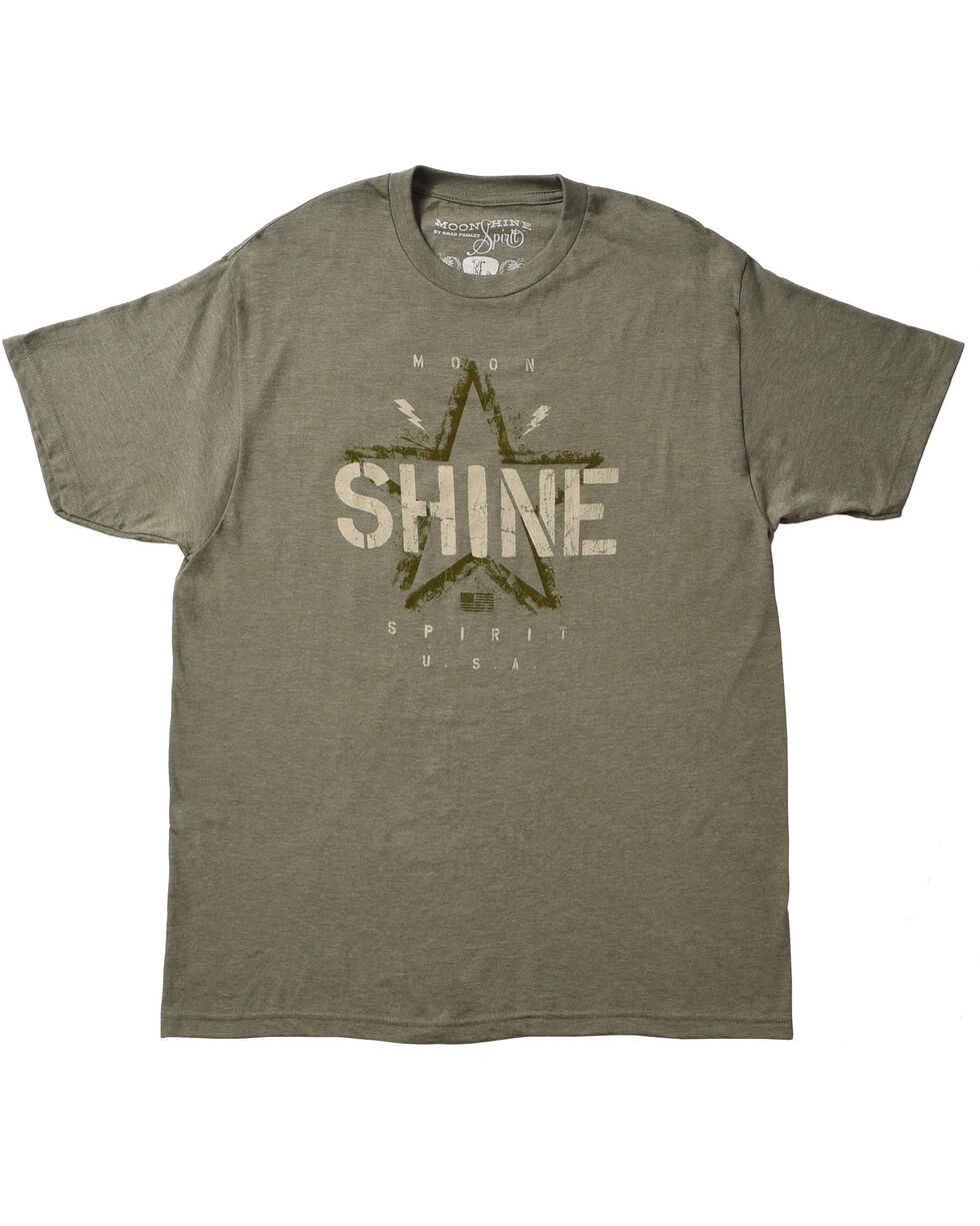 Moonshine Spirit® Vintage Shine T-Shirt, Black, hi-res