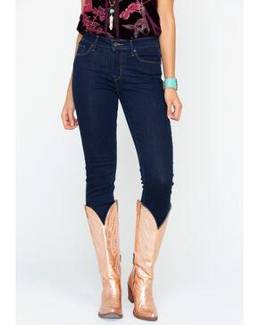Levi's Women's Soulful Dark Mid Rise Jeans - Skinny, Indigo, hi-res