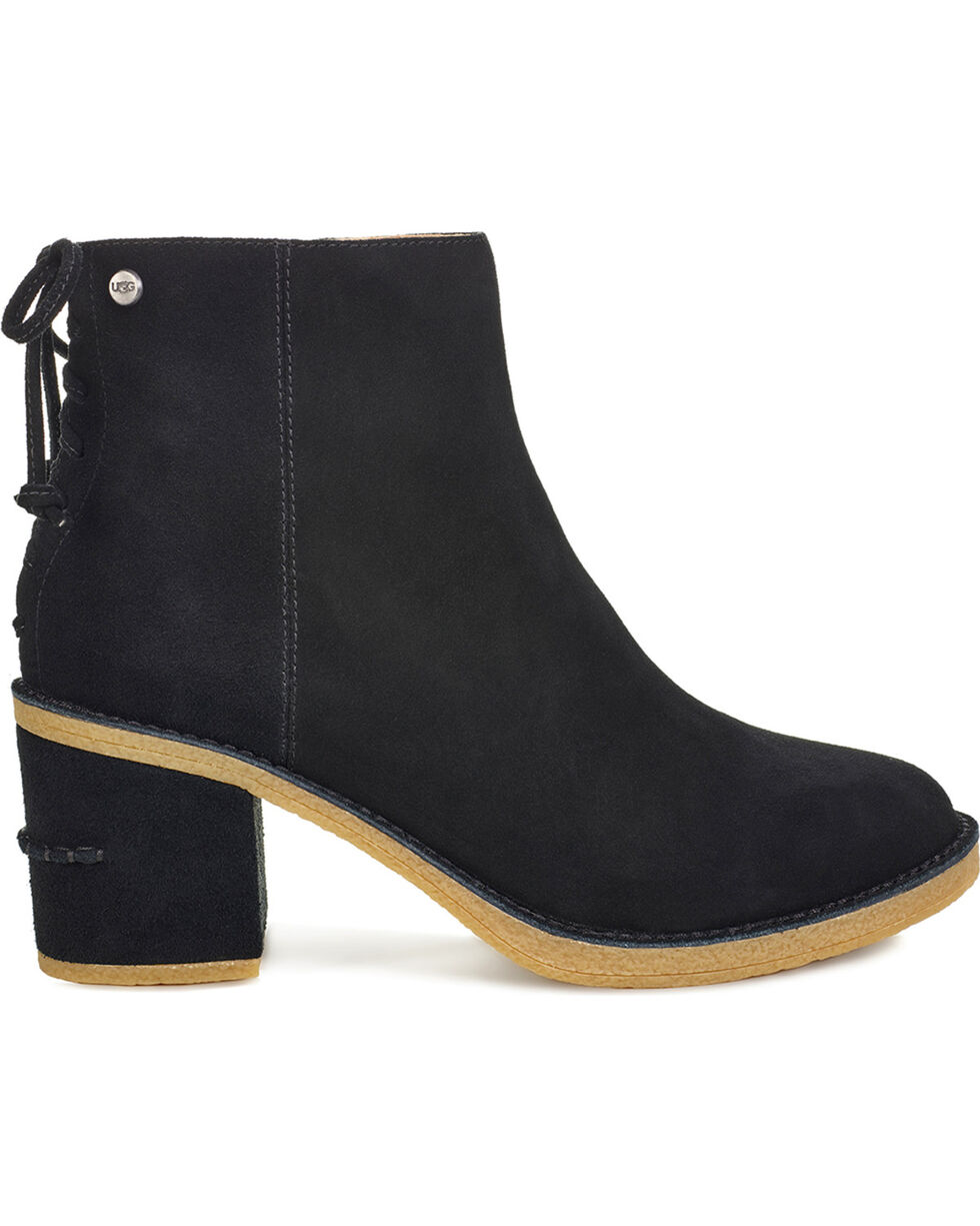 UGG Women's Black Corinne Boots - Round Toe, Black, hi-res