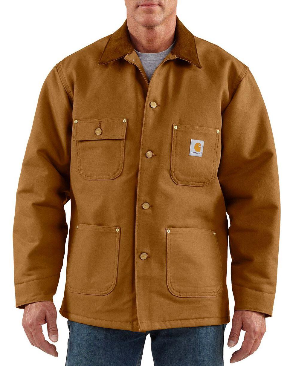 Carhartt Duck Chore Coat, Brown, hi-res