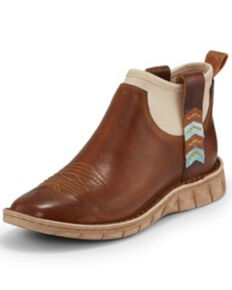 Tony Lama Women's Dezi Sunset Boots - Square Toe, Brown, hi-res