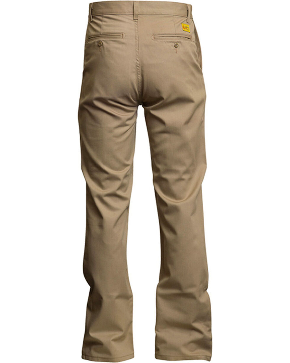Lapco Men's FR Advanced Comfort Work Pants, Beige/khaki, hi-res