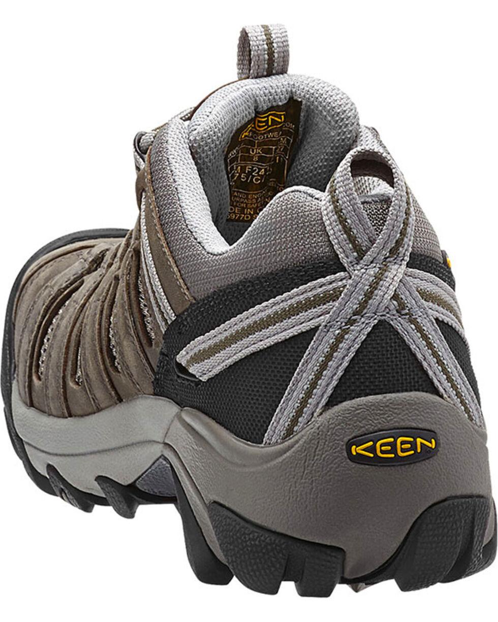 Keen Men's Flint Low Safety Shoes, Brown, hi-res