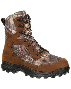 Rocky Men's Ridge Top Waterproof Hiker Boots - Round Toe, Multi, hi-res