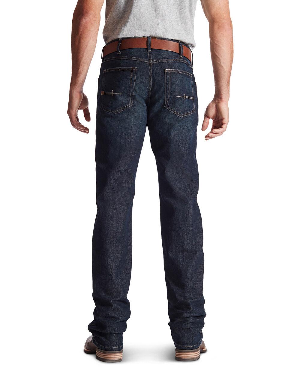 Ariat Men's Rebar M5 Slim Straight Leg Jeans, Denim, hi-res