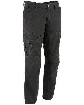 "Milwaukee Performance Men's 34"" Aramid Reinforced Black Cargo Jeans - Big, Black, hi-res"