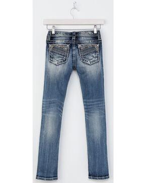 Miss Me Girls' Sure Thing Skinny Jeans, Indigo, hi-res