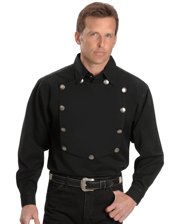 Scully Rangewear Mens Rangewear Standup Round Collar Vest