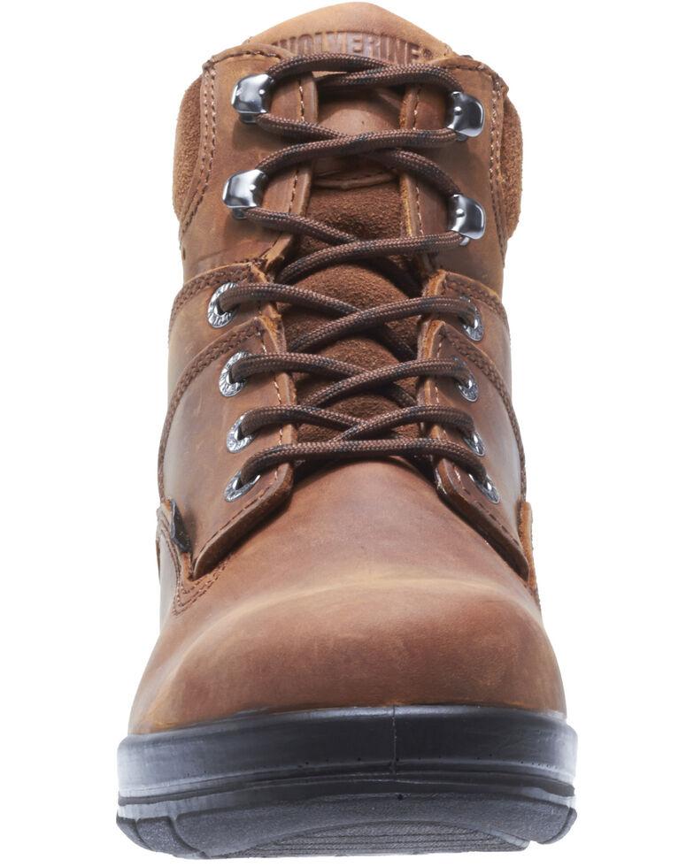 Wolverine Men's Durashocks Work Boots - Steel Toe, Brown, hi-res