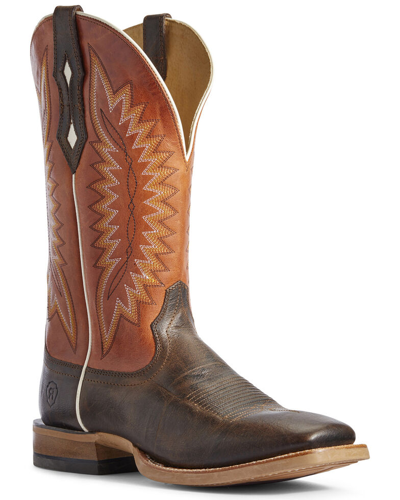 Ariat Men's Record Setter Western Boots - Wide Square Toe, , hi-res