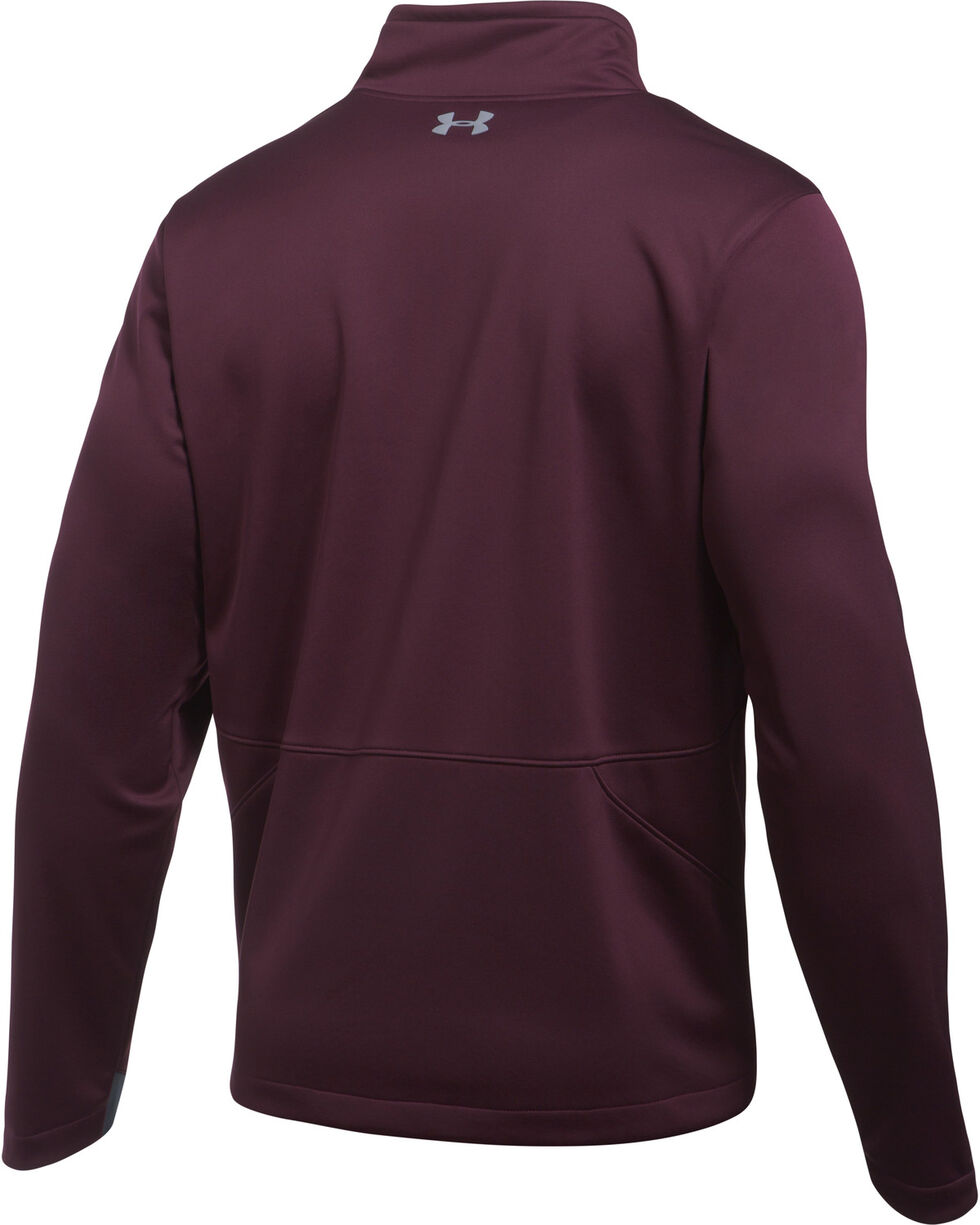 Under Armour Men's Storm Softershell Jacket , Wine, hi-res