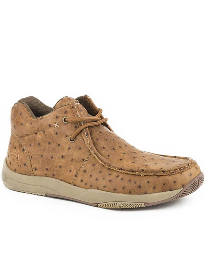 Roper Men's Clearcut Tan Shoes, Tan, hi-res