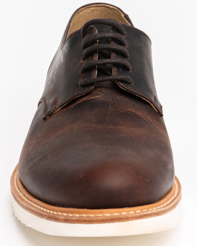 Cody James Men's Harper Lace-Up Boots - Round Toe, Brown, hi-res