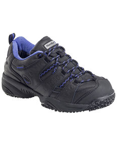 Nautilus Women's Waterproof Athletic Work Shoes - Composite Toe, Black, hi-res