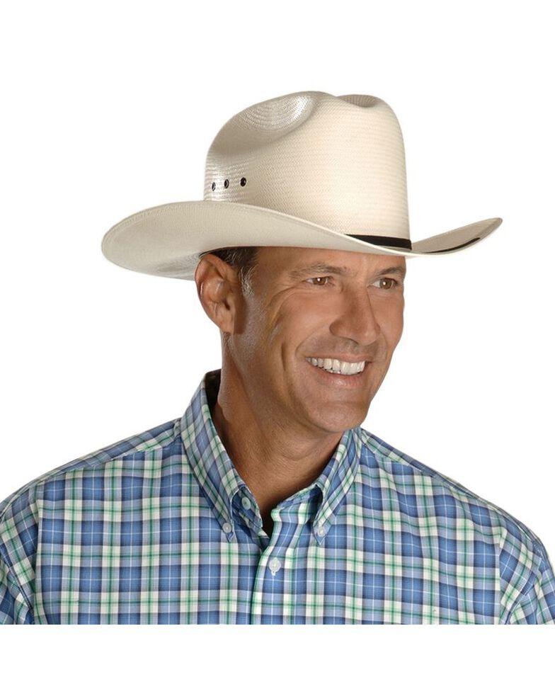 Stetson Rancher Straw Cowboy Hat, Natural, hi-res