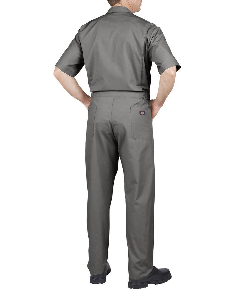 Dickies Short Sleeve Work Coveralls - Big & Tall, Grey, hi-res