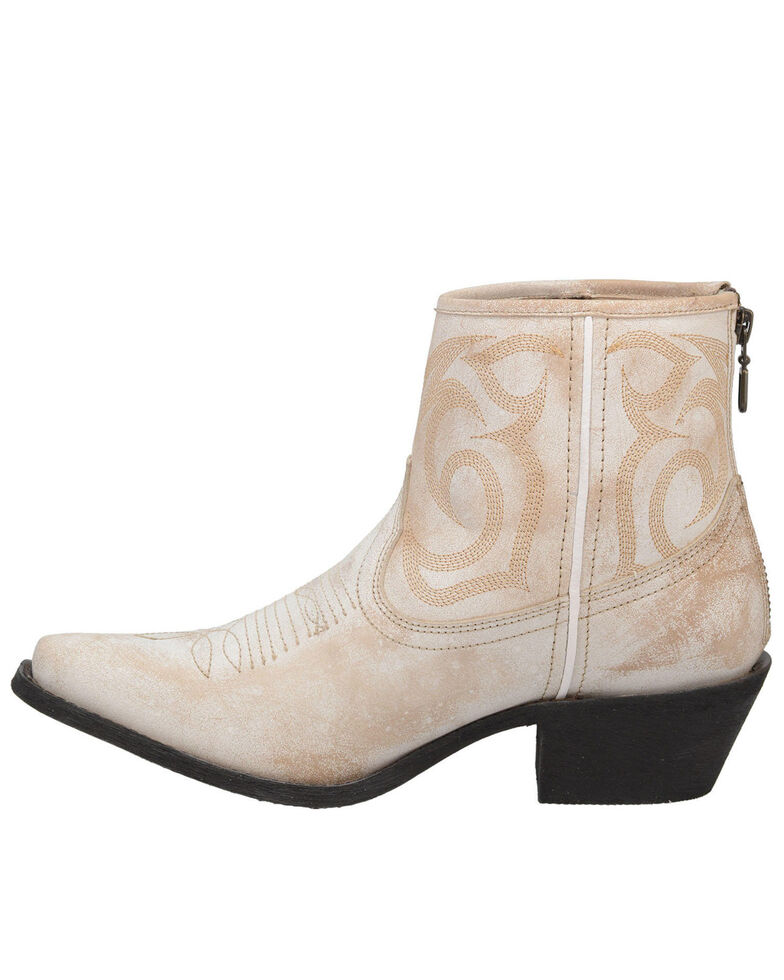 Laredo Women's Tempest Fashion Booties - Snip Toe, Off White, hi-res