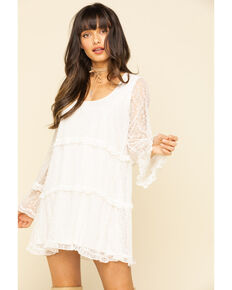 Show Me Your Mumu Women's Mansfield Mini Dress, White, hi-res