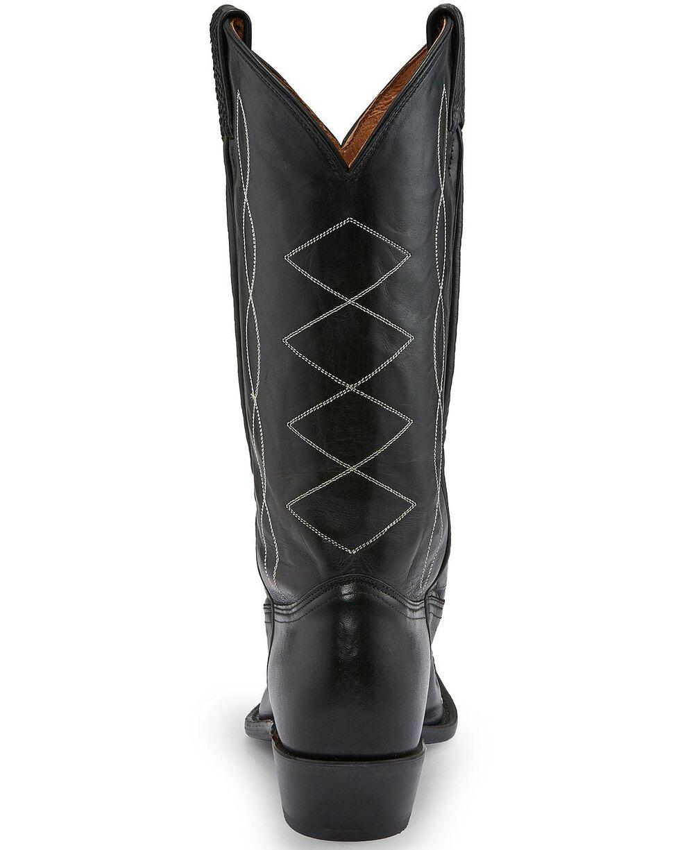 Tony Lama Women's Black Emilia Western Boots - Pointed Toe, Black, hi-res