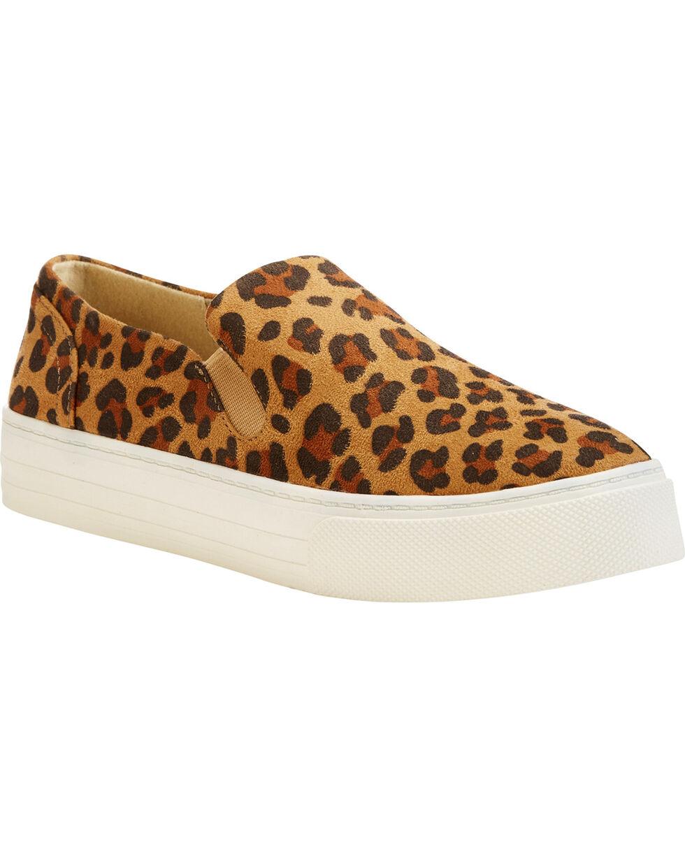 Ariat Women's Leopard Print Suede Shoes , Leopard, hi-res