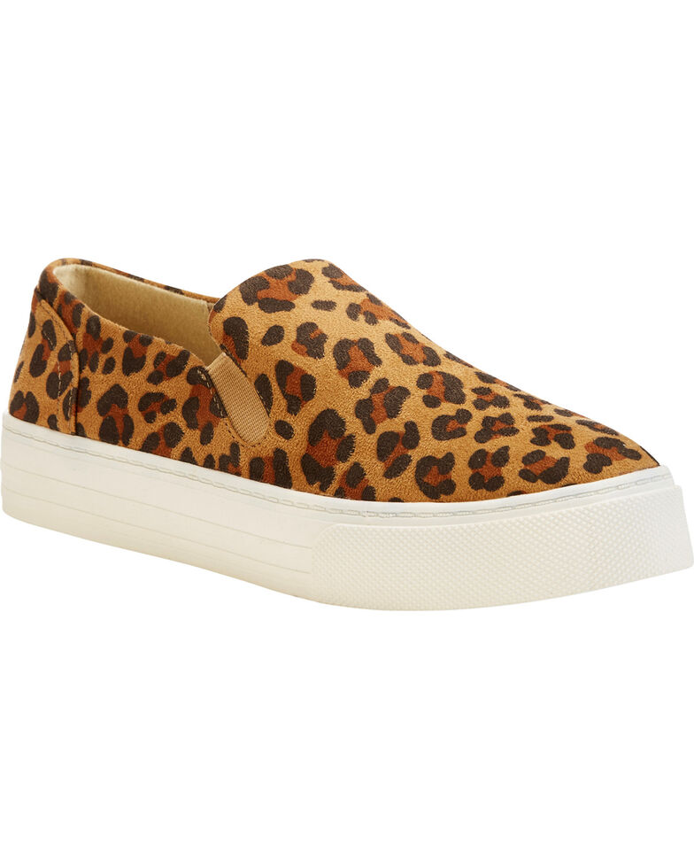 2b630ce84b95 Zoomed Image Ariat Women's Leopard Print Suede Shoes , Leopard, hi-res