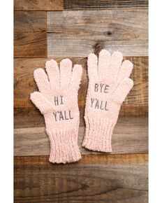 Idyllwind Women's Cozytown Blush Gloves, Pink, hi-res