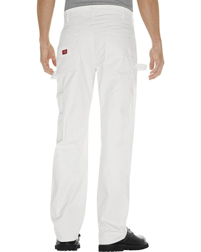 Dickies Men's Painter's Pants, White, hi-res