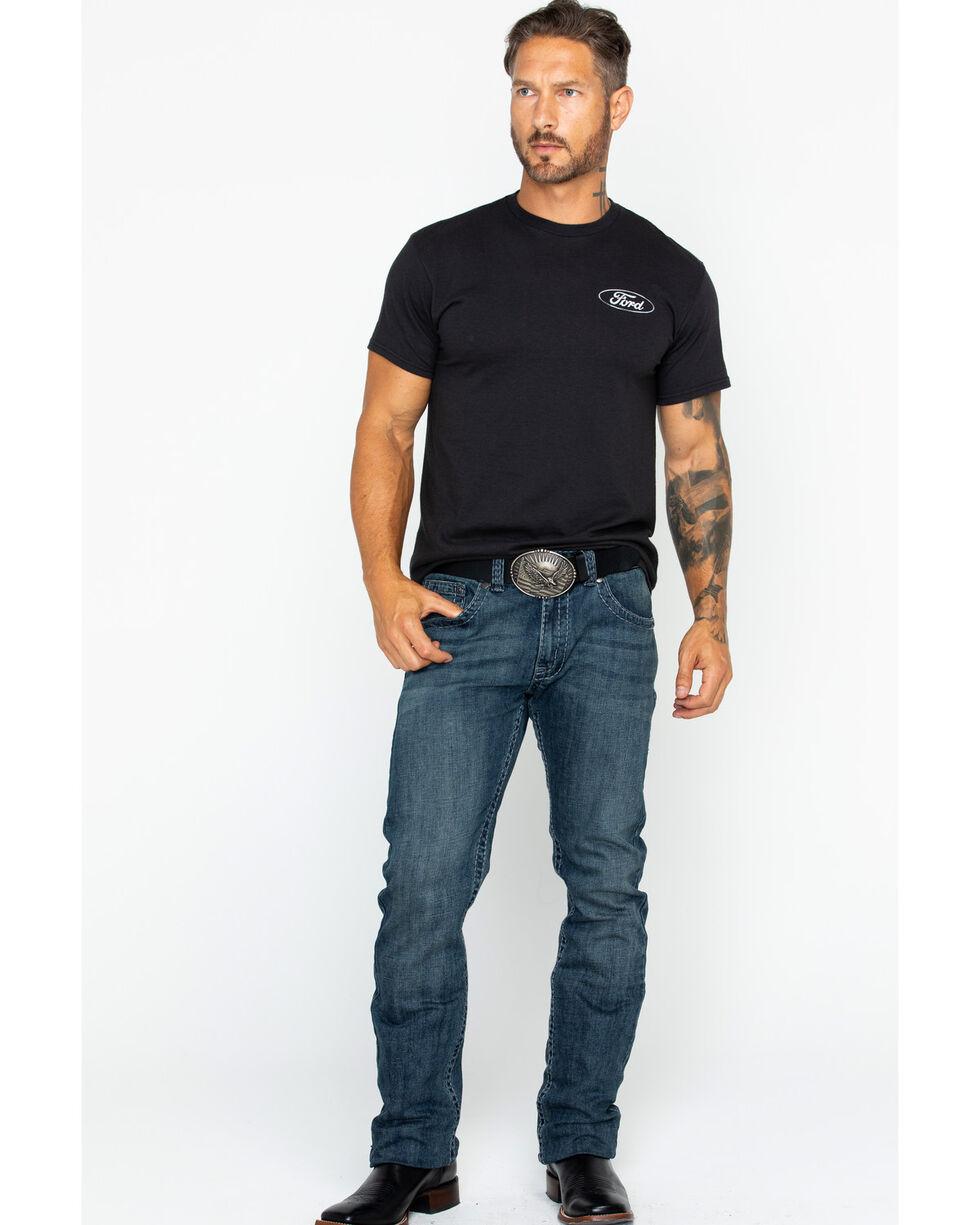 Buck Wear Men's Made In America T-Shirt , Black, hi-res