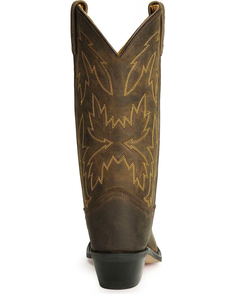 "Jama Women's Polanil 11"" Western Boots, Apache Tan, hi-res"