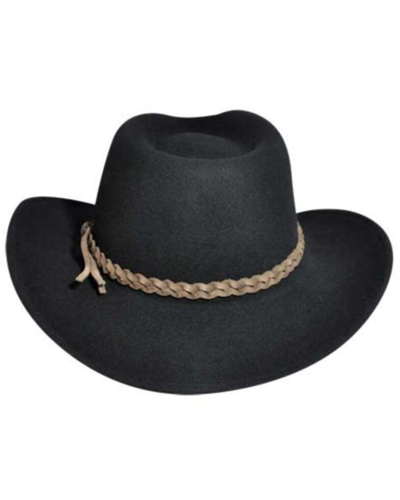 Wind River by Bailey Switchback Black Outback Hat, Black, hi-res
